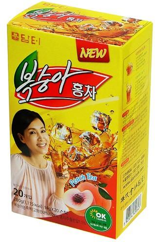ダムト 桃紅茶(粉末) (14gx20個入)★韓国食品市...