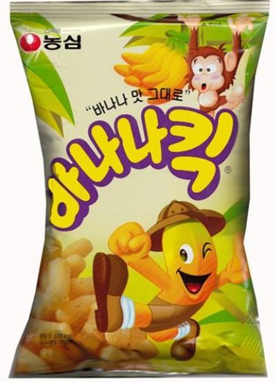★★農心 バナナキック/韓国食材/韓国食品/韓国...