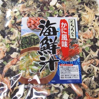 【送料込】北海道 昆布のふる里【海鮮汁】90g 35...