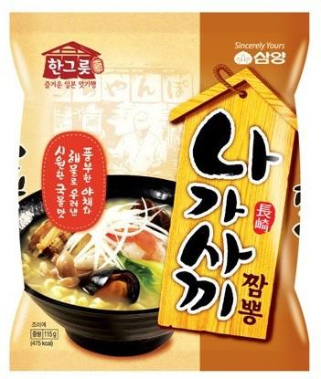 三養 長崎チャンポン麺(115g) ★韓国食品市...