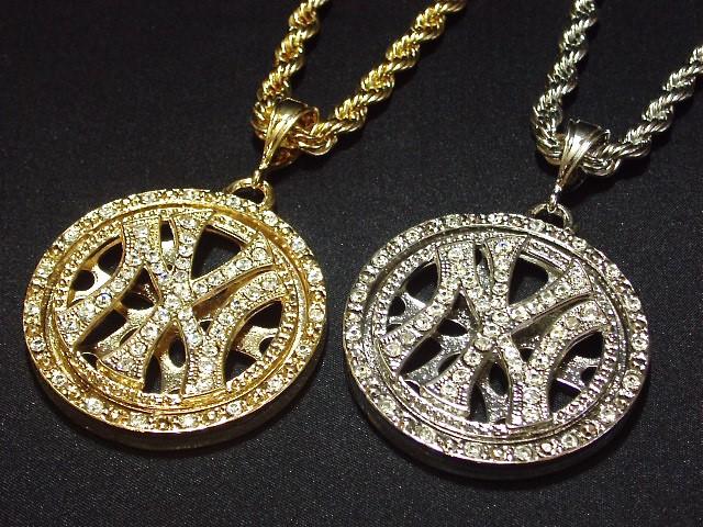 ネックレス NY ニューヨーク HipHop B系 ストリー...