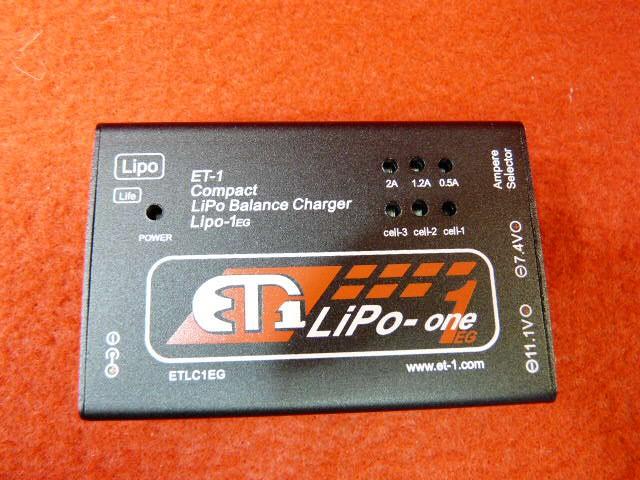 ET1 LIPO 1EG バランス充電器(ETLC1-LIPO1EG)【...
