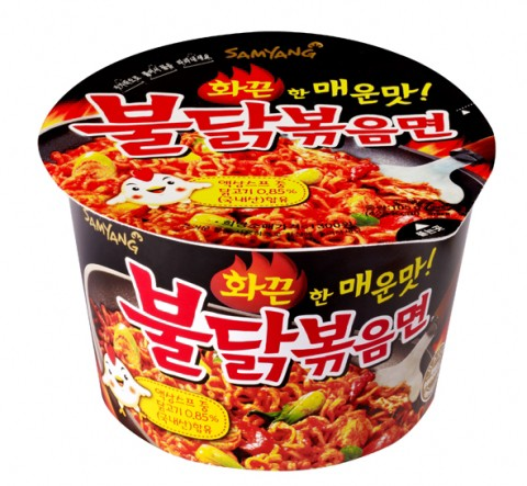 三養「サムヤン」 激辛ブルダック炒め麺 (カッ...