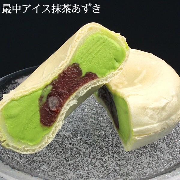 もちもち最中アイスクリーム(抹茶あずき)/お餅...