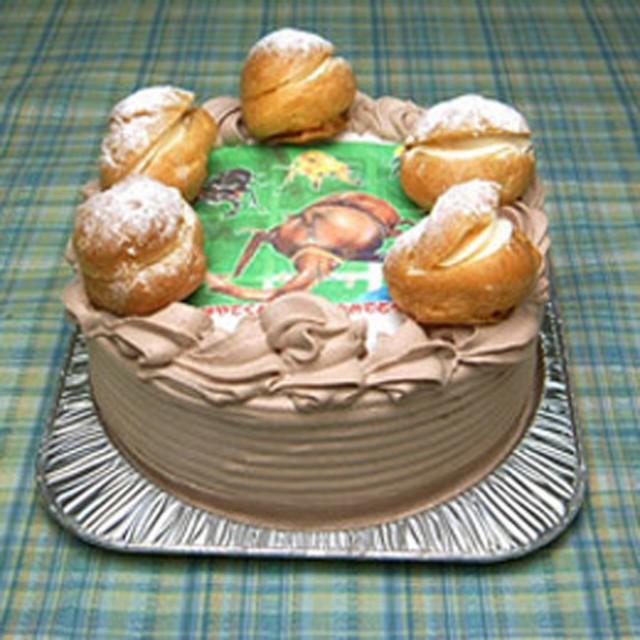 フォトケーキチョコ 7号 直径21cm    誕生日/バースデーケーキ/ギフト