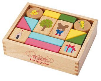 【送料無料】 木製玩具/くまのがっこう だいす...