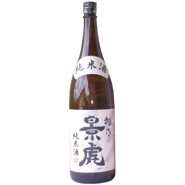 越乃景虎「純米酒」1800ml 【純米酒,諸橋酒造】[...
