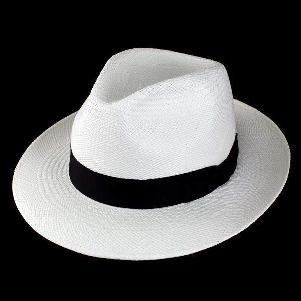 ハット メンズ ハット 帽子 パナマ帽 ワイドブリ...