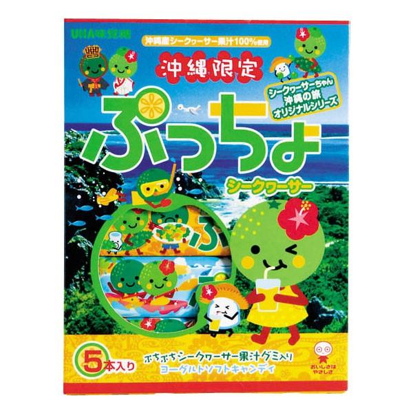 沖縄限定 ぷっちょ シークヮーサー 10粒×5本