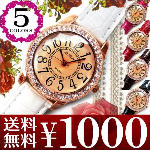 ★送料無料★超人気レディース腕時計!!CZダイヤ仕...