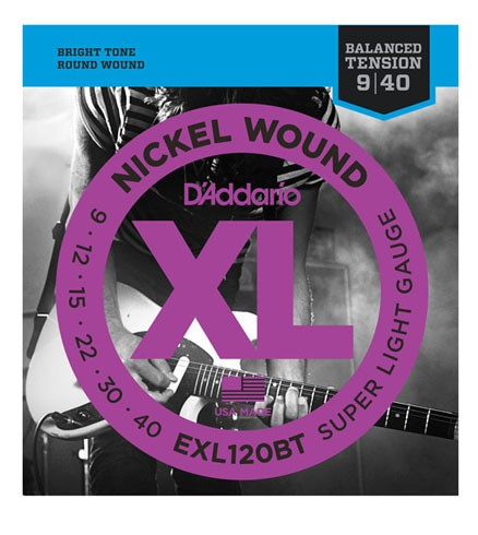 D'addario/エレキ弦 EXL120BT Balanced Tension【...
