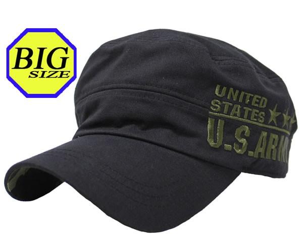 【大きいサイズ帽子 65cm】リアルアーミーレール...