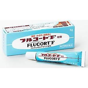 フルコートF 軟膏 5g 湿疹、皮膚炎、あせも、か...