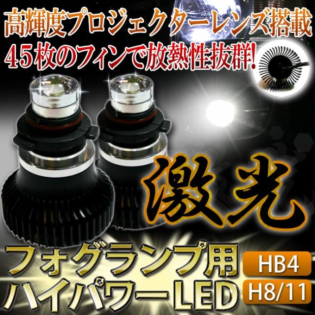 他の安物LEDフォグランプと一緒にしないで下さい...