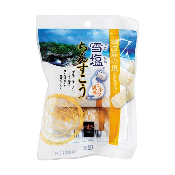 雪塩ちんすこう ミルク風味 袋入 2個入×3袋