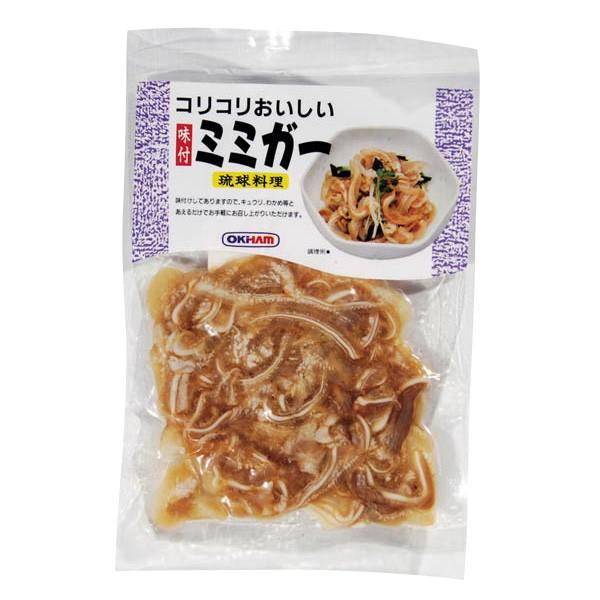 [冷蔵] コリコリおいしい味付ミミガー 80g