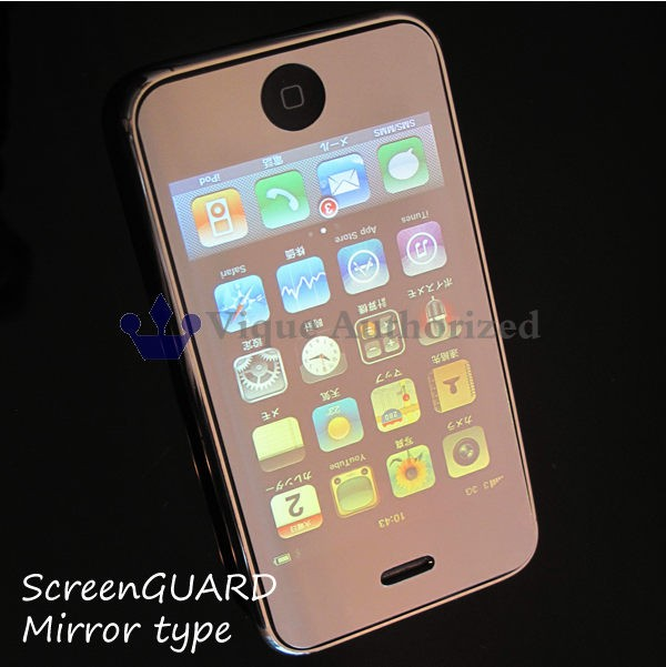 iPodtouch第2・第3世代用液晶画面保護シールミラ...