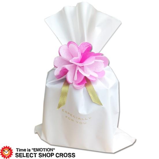 ギフトラッピング yg-flowerpk-wh200 ホワイト袋 ...