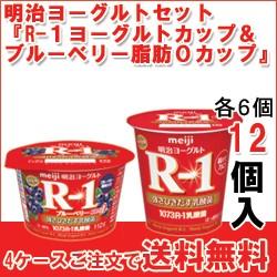 [R-1カップ][R-1ブルーベリーカップ]【各6個】セ...