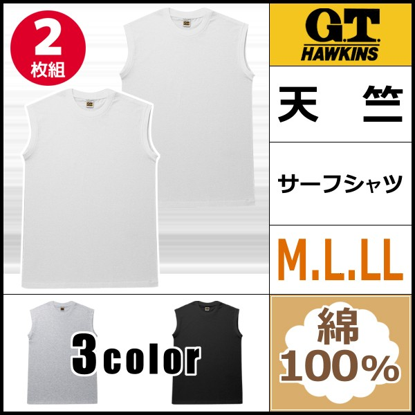 G.T.HAWKINS ホーキンス サーフシャツ 2枚組 グ...