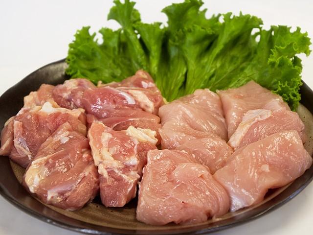 九州産▲若鶏角切り[約500g]★もも肉とむね肉を使...