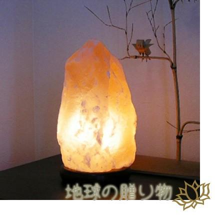 癒しの空間を演出◆ヒマラヤピンク岩塩ランプ