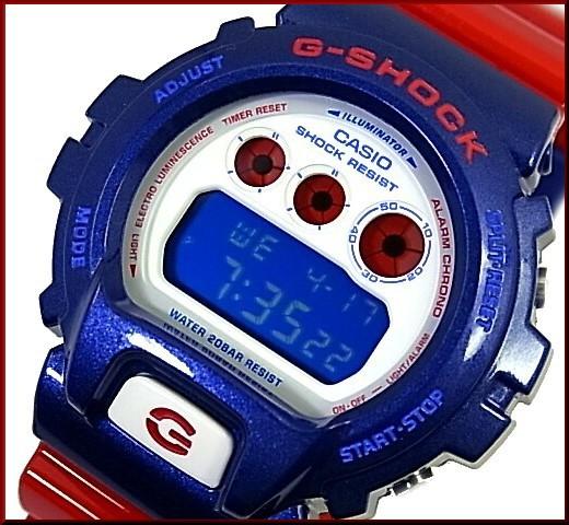 カシオ/G-SHOCK【CASIO/Gショック】Blue and Red ...