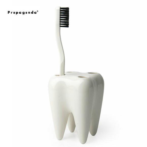 プロパガンダ 歯の形をした 歯ブラシホルダー ト...