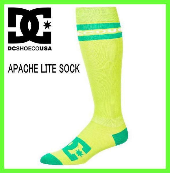 2013'DC Shoe APACHE LITE SOCK【LIM】スノーボー...