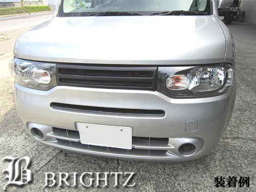 BRIGHTZ キューブ Z12 NZ12 マークレスグリル 交...