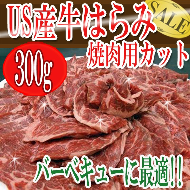牛はらみ焼肉用カット バーベキューに最適!!/焼肉/はらみ/ハラミ/さがり/冷凍/冷凍A
