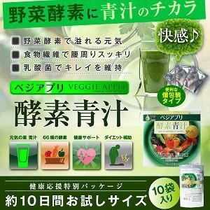 【4,200円で送料無料】酵素と青汁と乳酸菌、効率...