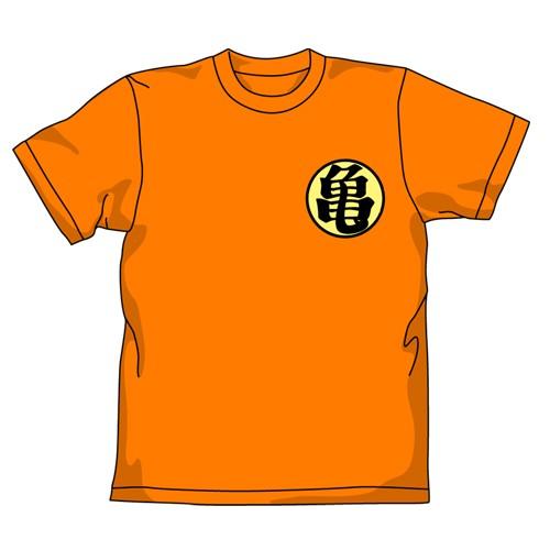 ドラゴンボール DRAGON BALL 改 亀Tシャツ ORANGE...