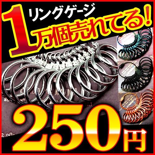 ★ポイント10倍!!★指輪のサイズが測れるリングゲ...