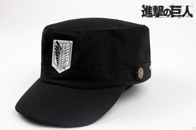 『進撃の巨人』リヴァイ コスプレ帽子★ コスプ...