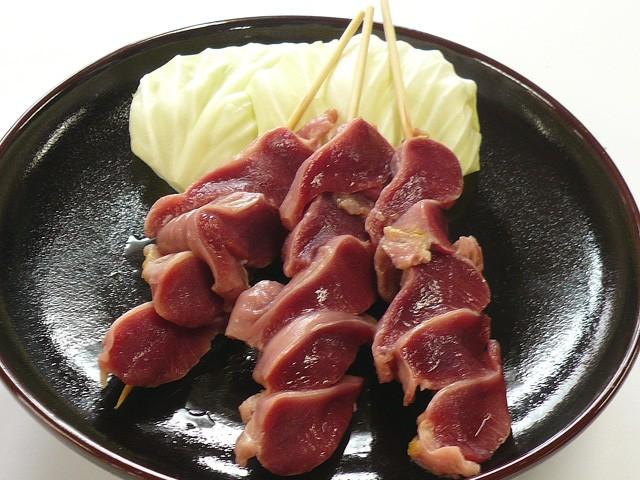 国産若鶏▲焼鳥 砂肝串(砂ずり串)[3本]焼き鳥・...