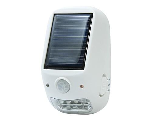 YAZAWA NL57WH ソーラー充電池/乾電池対応  LED ...