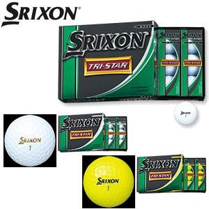 ダンロップ 14NEW スリクソン TRI-STAR ゴルフボ...