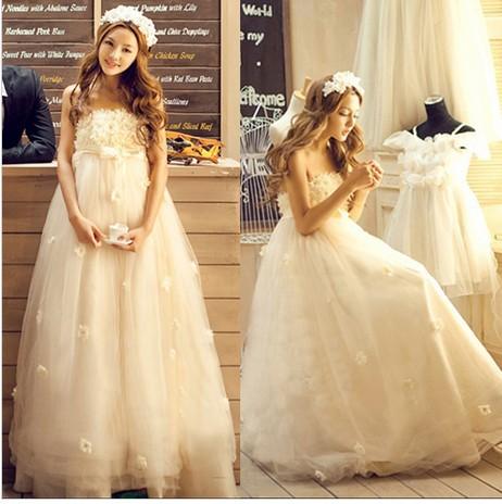 HS231 ウェディングドレス.ドレス.プリンセス.舞...