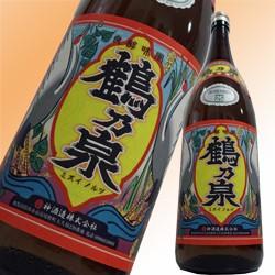 【限定芋焼酎】25度 鶴乃泉 1.8L