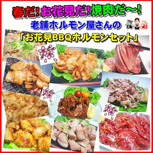 【送料無料】焼肉が盛り上がるッ!お花見用ホルモ...