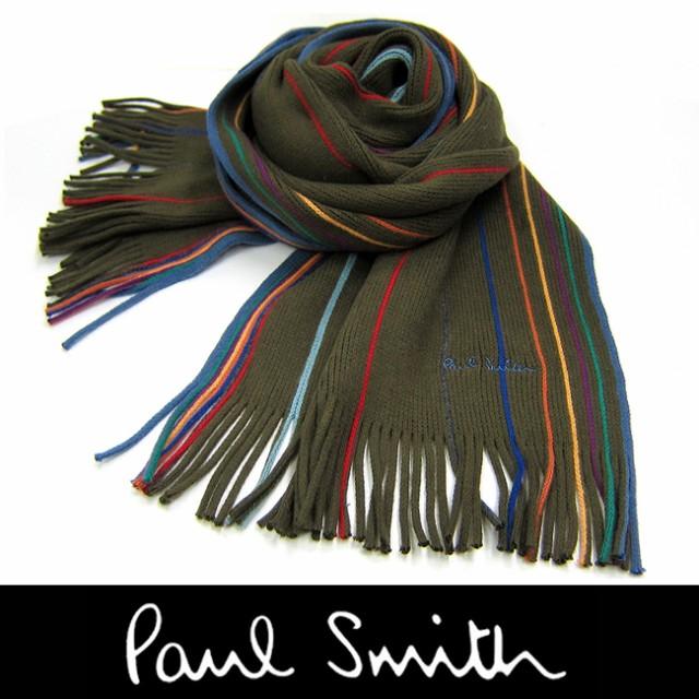 Paul Smith ポールスミス マフラー フリンジ 950A...