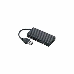 エレコム(ELECOM) U2H-Y4BBK/RS USBハブ ブラック...