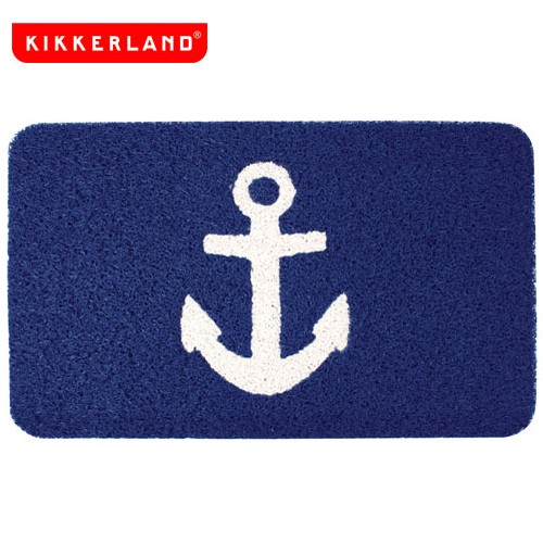 Kikkerland キッカーランド anchor doormat アン...