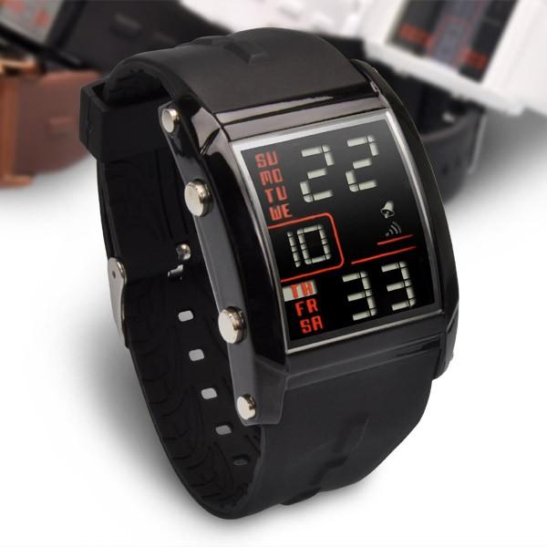 デジタル腕時計 メンズ FrancTemps フランテンプ...