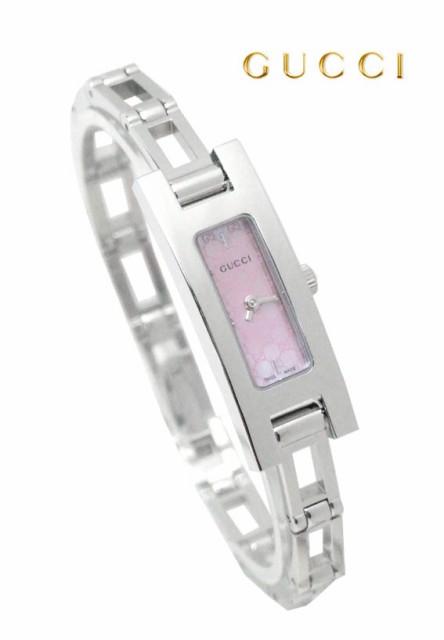 グッチ 時計 腕時計 YA039547 ピンクシェルフ...