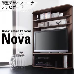 【送料無料】薄型ハイタイプコーナーテレビボード...