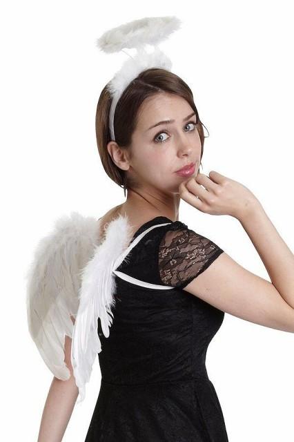 エンジェルパーツセット ホワイト 白 天使 羽 翼 ...