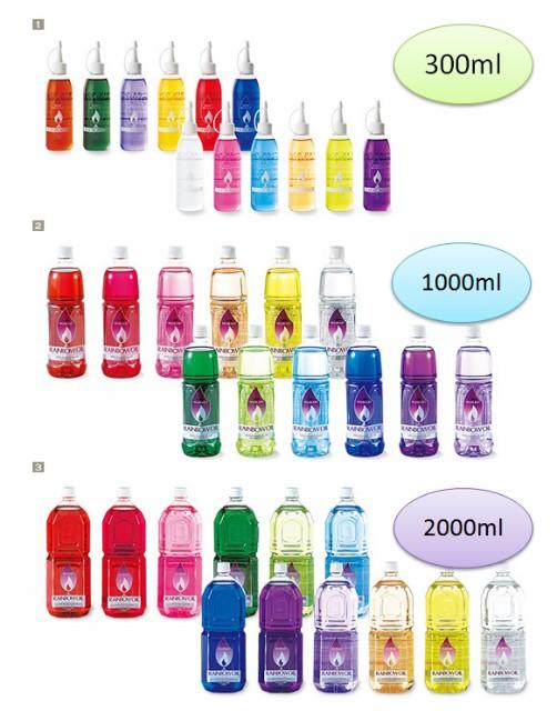 【レインボーオイル 1L】 高品質 ススが出ない 素...