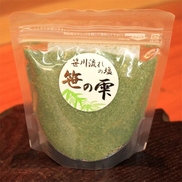 【笹エキス入り】笹川流れの塩 笹の雫(130g)/...